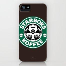 Starboks Koffee 2.0 iPhone Case