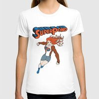 amy pond T-shirts featuring SUPER POND by sophiedoodle