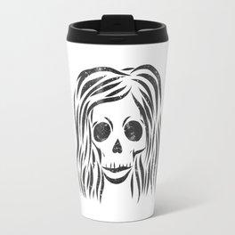 *Wild* - digital disstressed illustration Travel Mug