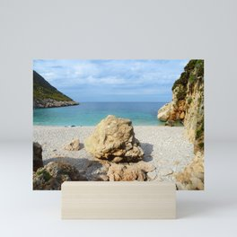 SICILIAN SEA SOUND Mini Art Print