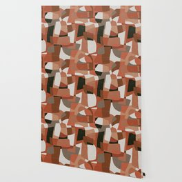 Nomade Abstraction / Mid Century Shapes Wallpaper