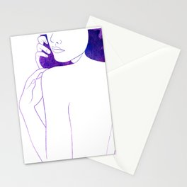 Plum Stationery Cards