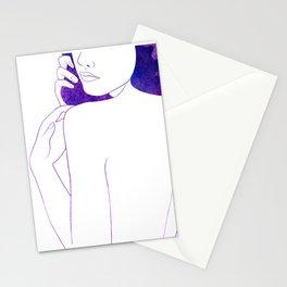 Plum Stationery Cards