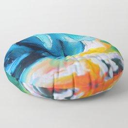 Oasis on Fire Floor Pillow