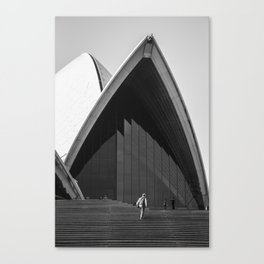 Opera House Steps Canvas Print