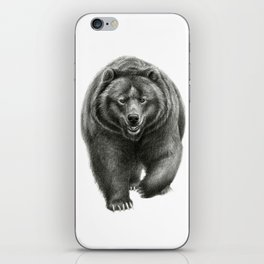 Brown Bear SK068 iPhone Skin