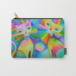 Rainbow Pussies Carry-All Pouch
