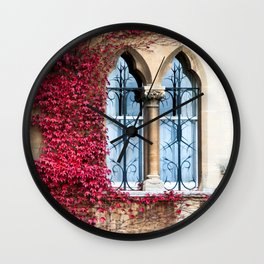 Creeping Vine Wall Clock