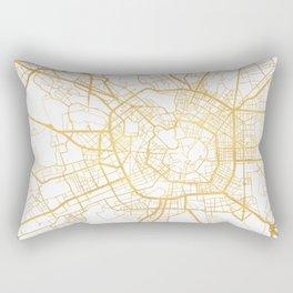 MILAN ITALY CITY STREET MAP ART Rectangular Pillow