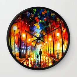 Tardis Art Watching Wall Clock