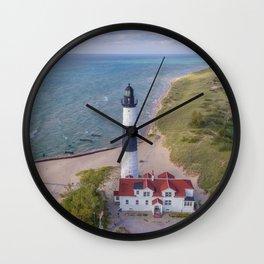 Big Sable Home Wall Clock