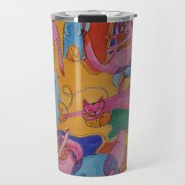 Crazy Yarn Travel Mug