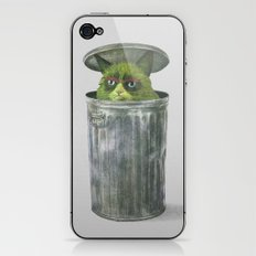 Grouchy Cat  iPhone & iPod Skin
