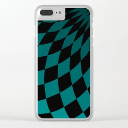 Wonderland Floor #4 Clear iPhone Case
