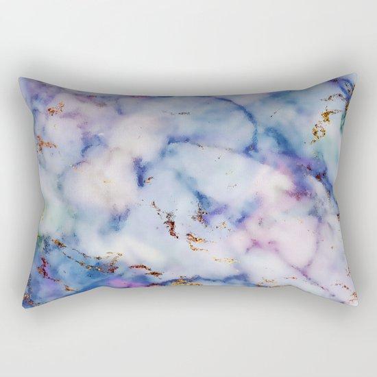 Marble Effect #6 Rectangular Pillow