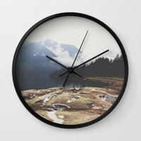 italy Wall Clocks featuring Italy by Laure.B