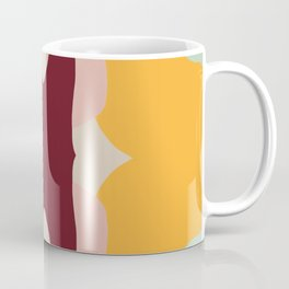 Abstract Pastel Butterfly Coffee Mug