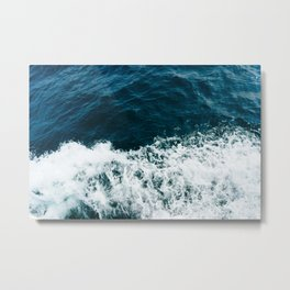 Ocean Crush Metal Print