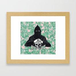 death on the lanai Framed Art Print