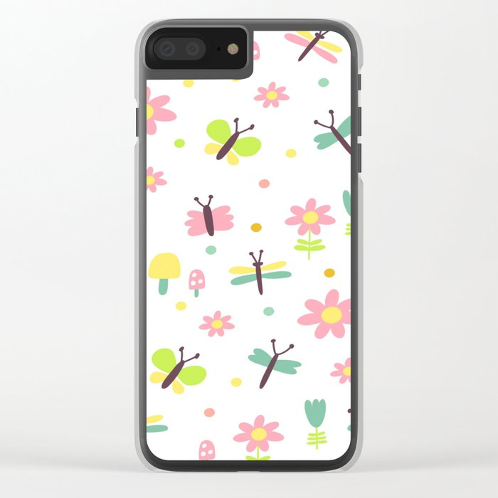 Sweet Fly Clear iPhone Case