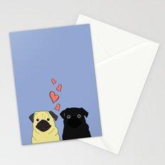Pantone Pugs Stationery Cards