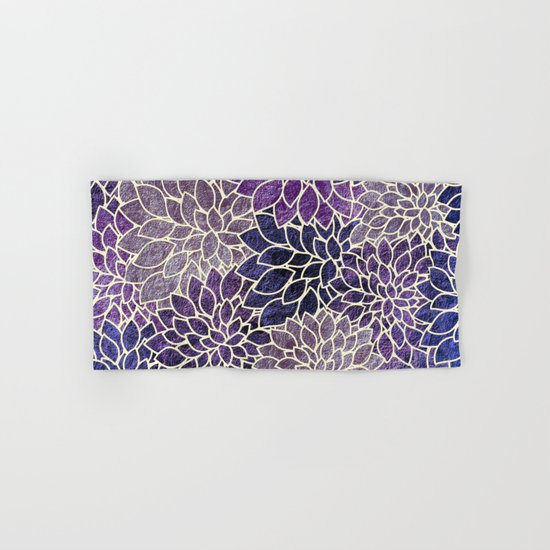 Floral Abstract 11 Hand & Bath Towel