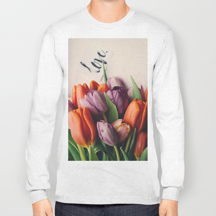 Love and Tulips Long Sleeve T-shirt