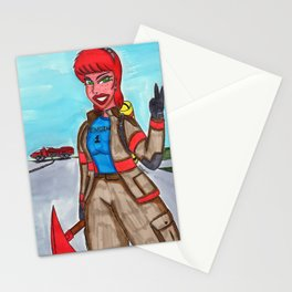 Fire Fighter Stationery Cards