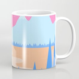 Moonlit Mountains Coffee Mug