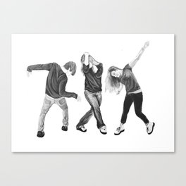 Body Language  Canvas Print