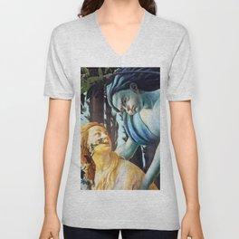"Sandro Botticelli ""Primavera"" Chloris and Zephyrus Unisex V-Neck"
