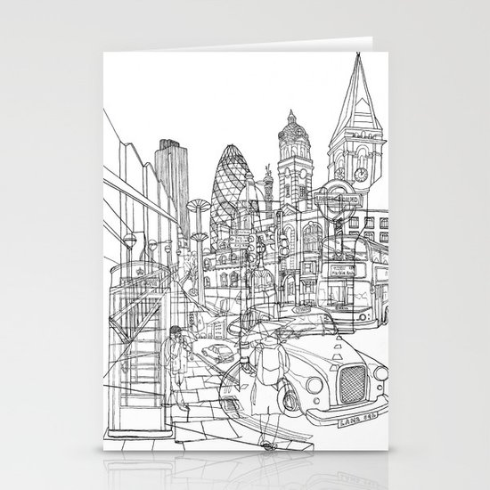 London! Stationery Cards