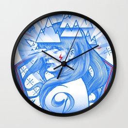 Downhill Seeker Wall Clock