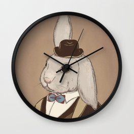 Fake Lop 1 Wall Clock
