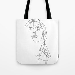 Modern Picasso by Sher Rhie Tote Bag