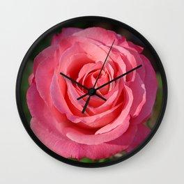 'Cherish' Rose Wall Clock