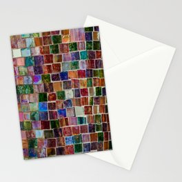 Glass tiles Stationery Cards