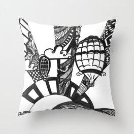 Flight of Fancy Throw Pillow