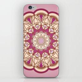 vinous mandala iPhone Skin