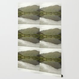 Reflections from Diamond Lake Wallpaper