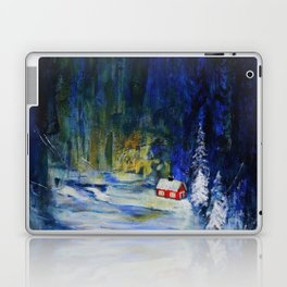 Out alone Laptop & iPad Skin