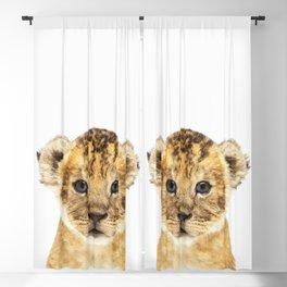 Lion Cub Blackout Curtain