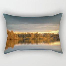 Nature lake 88471 Laupheim - Germany Rectangular Pillow