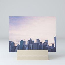 Lower Manhattan Skyline Mini Art Print