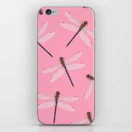 Dragonfly pattern iPhone Skin
