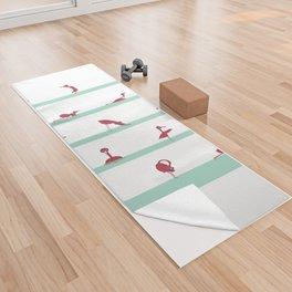 Flamingo Yoga Yoga Towel