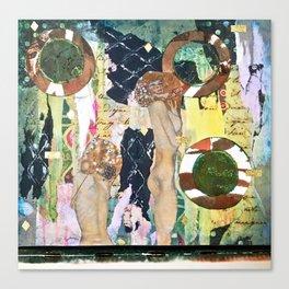 Hot Tub Klimt Machine Canvas Print