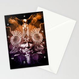 Psychedelic Shaman Stationery Cards