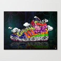 Horror Vacui - Baskets01 Canvas Print
