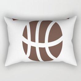 Fresh Prince Bel-Air Academy Basketball Shirt Rectangular Pillow